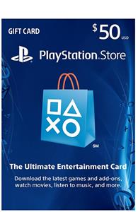 SONY PlayStation Store 50$ Gift Card